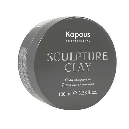 Купить Kapous Professional Глина для укладки волос нормальной фиксации «Sculpture Clay», 100 мл (Kapous Professional, Styling)