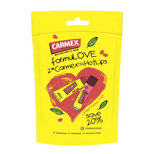 Купить Carmex Набор бальзамов Классика & Гранат, 1х2 шт (Carmex, Для губ)
