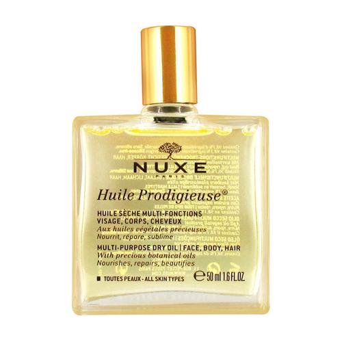 Купить Nuxe Продижьёз Сухое масло для лица, тела и волос Новая формула, 50 мл (Nuxe, Prodigieuse)