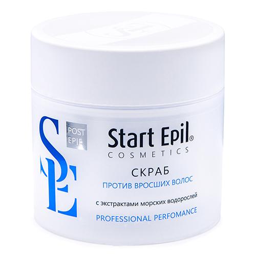 Купить Aravia Professional Скраб против вросших волос с экстрактами морских водорослей, 300 мл (Aravia Professional, Start Epil)