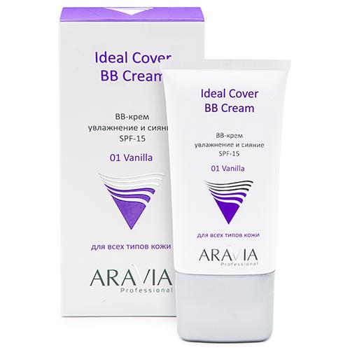 Купить Aravia Professional BB-крем увлажняющий SPF-15 Ideal Cover BB-Cream оттенок Vanilla 01, 50 мл (Aravia Professional)