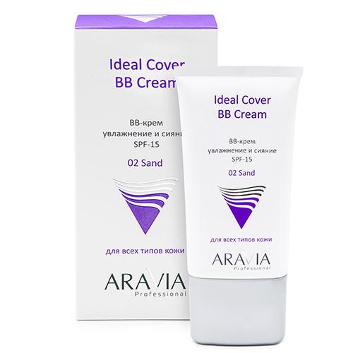 Купить Aravia Professional BB-крем увлажняющий SPF-15 Ideal Cover BB-Cream оттенок Sand 02, 50 мл (Aravia Professional)