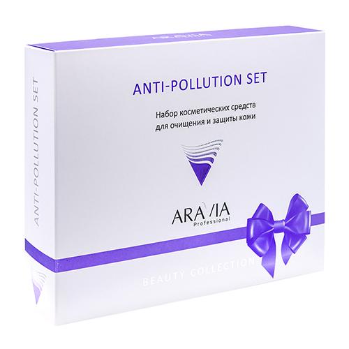 Купить Aravia professional Набор для очищения и защиты кожи Anti-pollution Set, 1 шт. (Aravia professional, Aravia Professional)