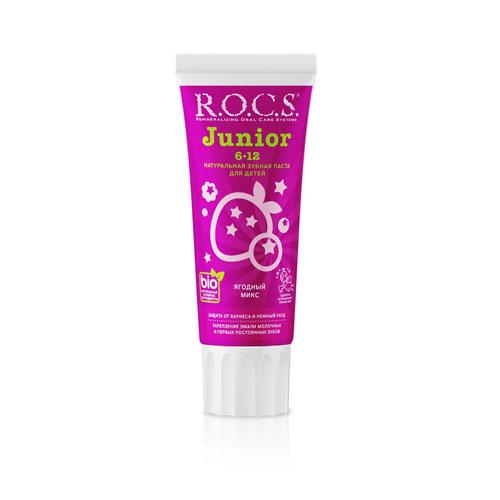Купить R.O.C.S Зубная паста Ягодный Микс, 74 г (R.O.C.S, Junior)