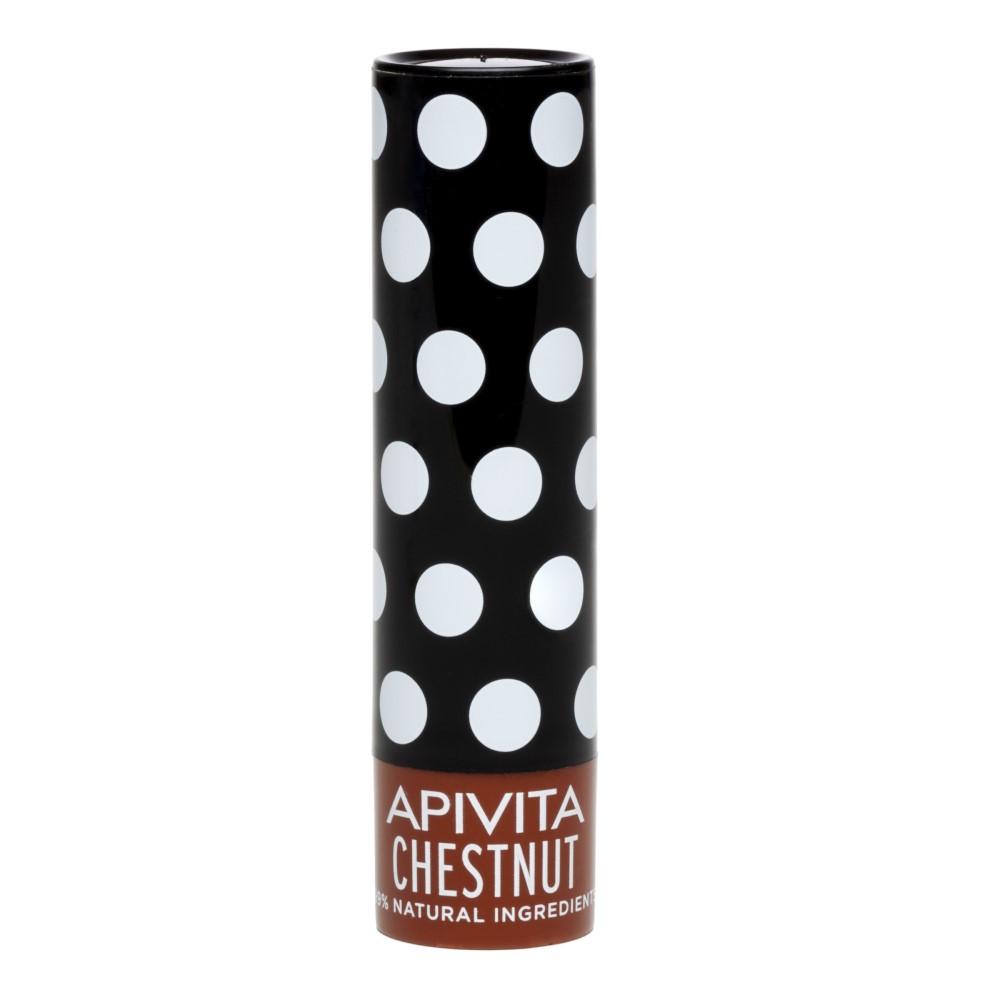 APIVITA Уход для губ с оттенком каштана, 4,4 г (APIVITA, Lip Care)