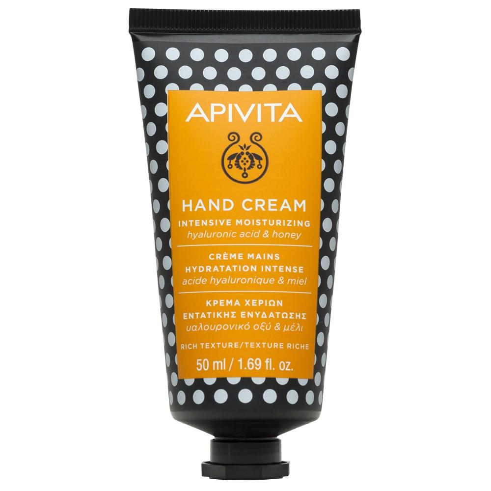 APIVITA Крем для рук с гиалуроновой кислотой и медом, 50 мл (APIVITA, Hand)