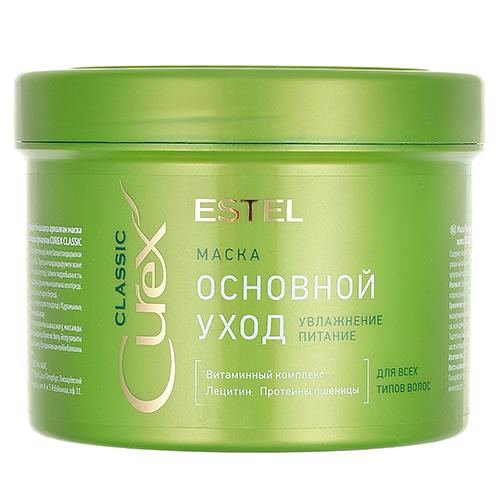 Купить Estel Professional Маска Основной уход для всех типов волос, 500 мл (Estel Professional, Curex)