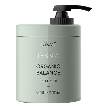 Lakme Интенсивная увлажняющая маска для всех типов волос Organic balance treatment, 1000 мл (Lakme, Teknia)