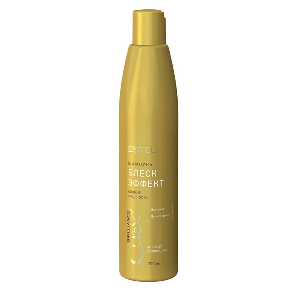 Купить Estel Professional Шампунь Блеск-эффект для всех типов волос, 300 мл (Estel Professional, Curex)