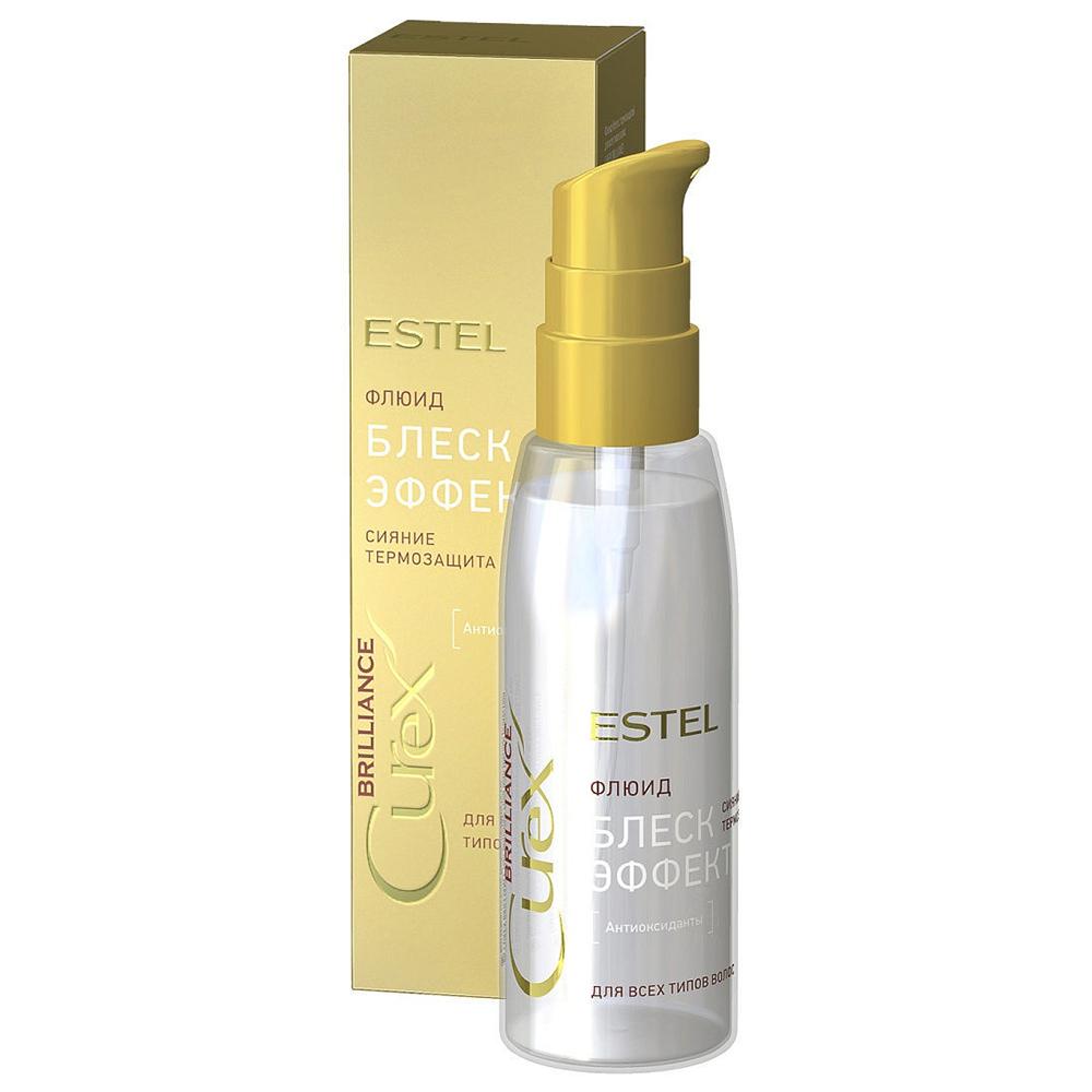 Купить Estel Professional Флюид Блеск-эффект для всех типов волос, 100 мл (Estel Professional, Curex)