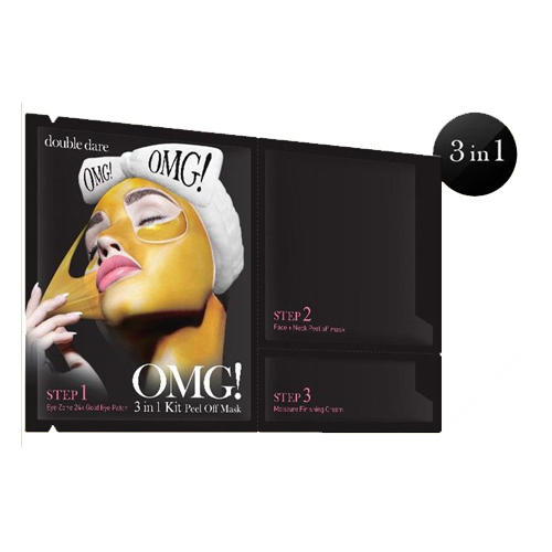 Купить Double Dare OMG Peel Off Mask маска трехкомпонентная для обновления кожи лица 3 в 1, 1 шт. (Double Dare OMG, Double Dare)