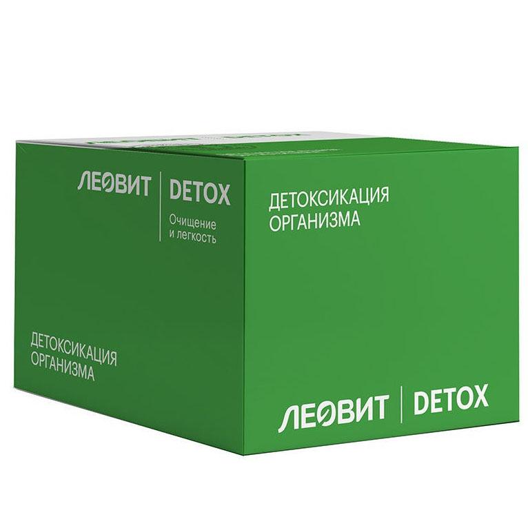 Купить Леовит Кисель детоксикационный ягодный, с клубникой, 20 г (Леовит, )