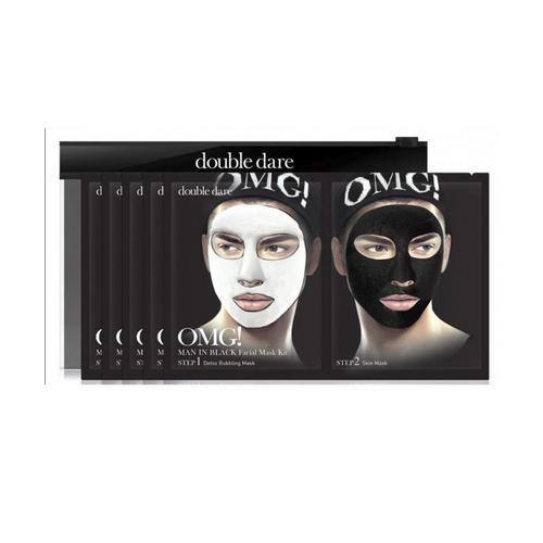 Купить Double Dare OMG Двухкомпонентный комплекс мужских масок «ДЕТОКС» 1 шт (Double Dare OMG, OMG!)