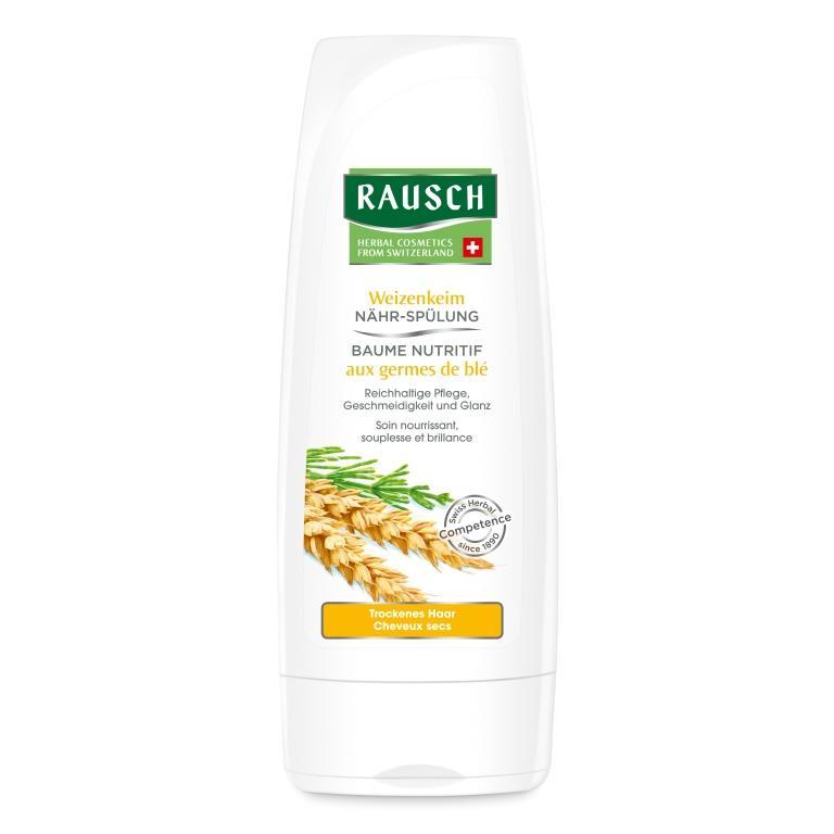 Купить Rausch Смываемый кондиционер питательный с экстрактом зародышей пшеницы 200 мл (Rausch, Для сухих волос)