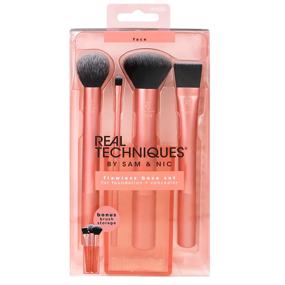 Real Techniques Набор для макияжа Flawless Base Set (Real Techniques, ) недорого