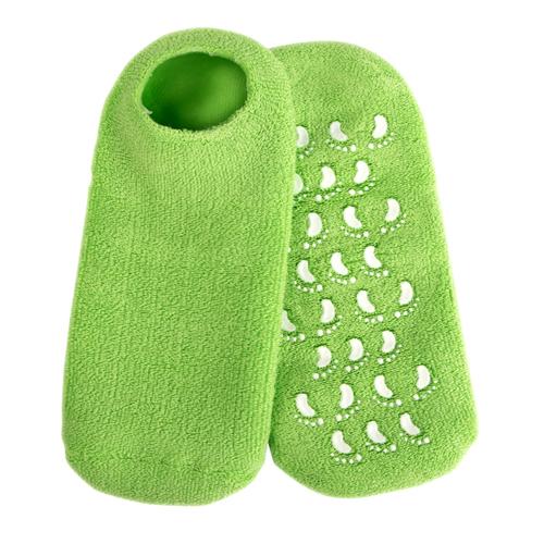 Купить Beauty Style Гелевые носочки увлажняющие с экстрактом зеленого чая, 1 пара (Beauty Style, Перчатки и носочки для маникюра и педикюра)