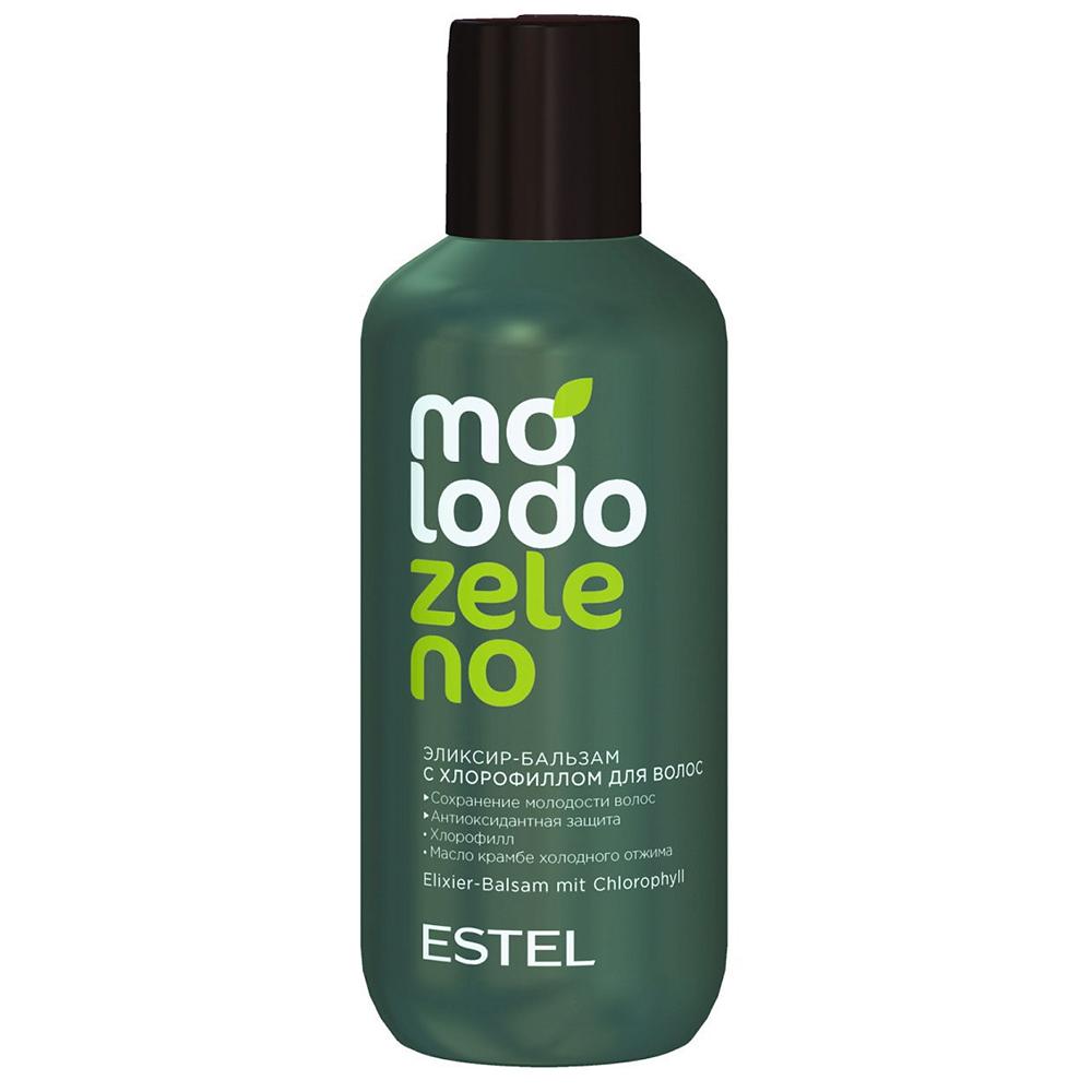 Купить Estel Professional Бальзам-эликсир для волос с хлорофиллом, 200 мл (Estel Professional, Molodo Zeleno)