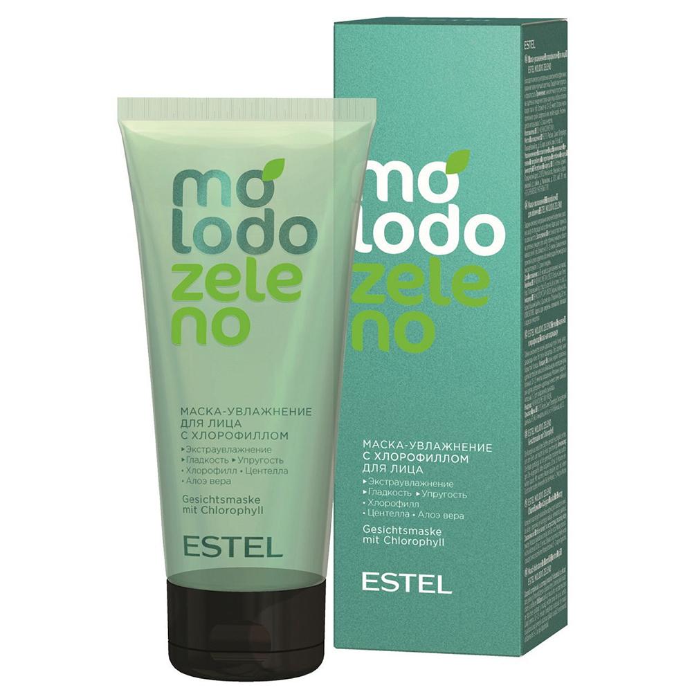 Купить Estel Professional Маска-увлажнение с хлорофиллом для лица, 100 мл (Estel Professional, Molodo Zeleno)