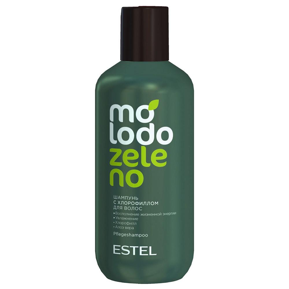 Купить Estel Professional Шампунь для волос с хлорофиллом, 250 мл (Estel Professional, Molodo Zeleno)
