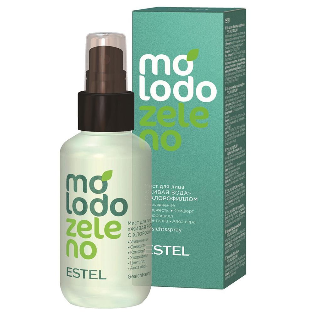 Купить Estel Professional Мист для лица Живая вода с хлорофиллом, 100 мл (Estel Professional, Molodo Zeleno)