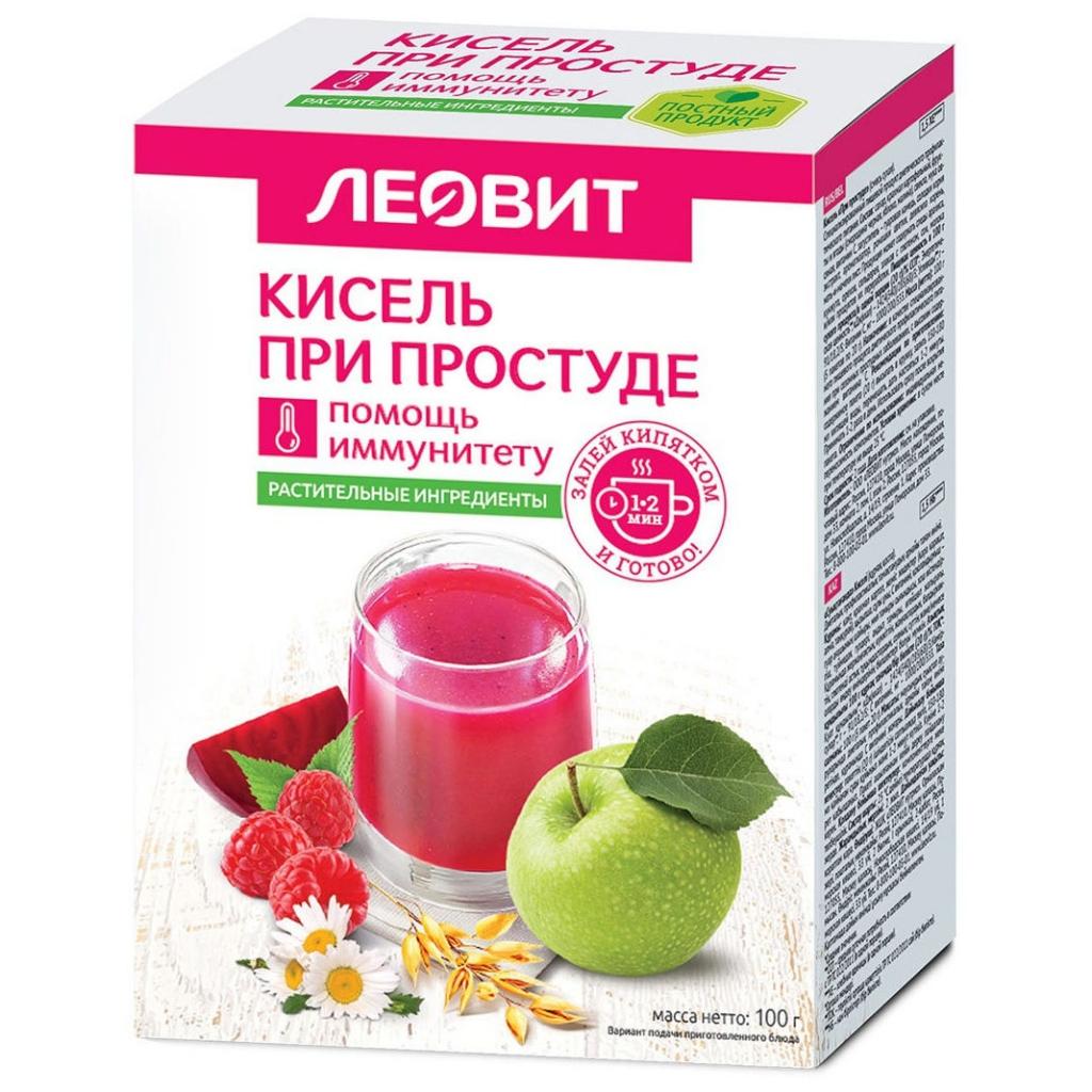 ЛЕОВИТ Кисель при простуде, 5 шт*20 г (ЛЕОВИТ, )