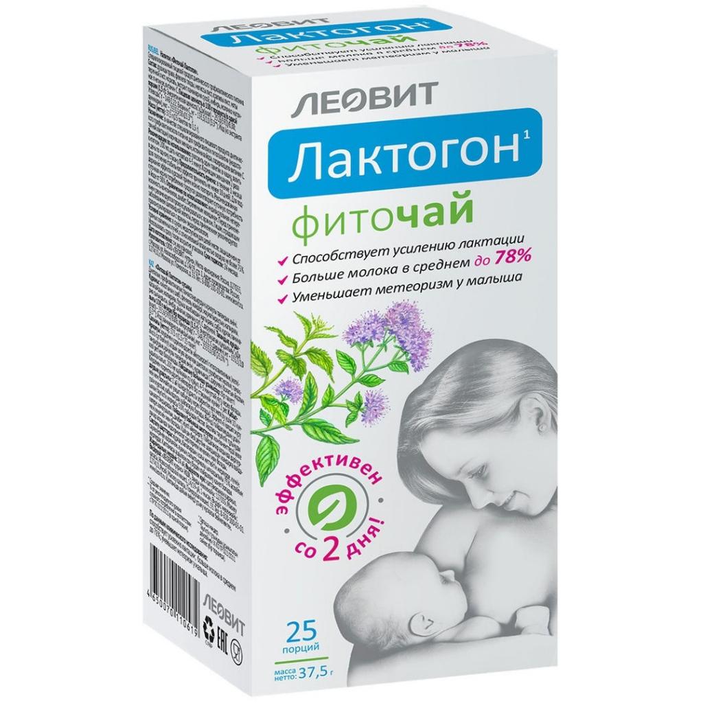 ЛЕОВИТ Фиточай Лактогон, 25 шт*1,5 г (ЛЕОВИТ, )