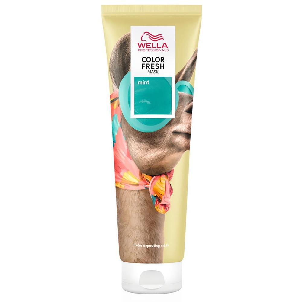 Купить Wella professionals Оттеночная кремовая маска для временного яркого освежения цвета Mint Мятный, 150 мл (Wella professionals, Окрашивание)