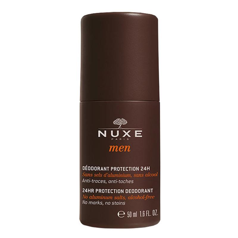 Купить Nuxe Мужской шариковый дезодорант 24 часа 24HR Protection Deodorant, 50 мл (Nuxe, Men)