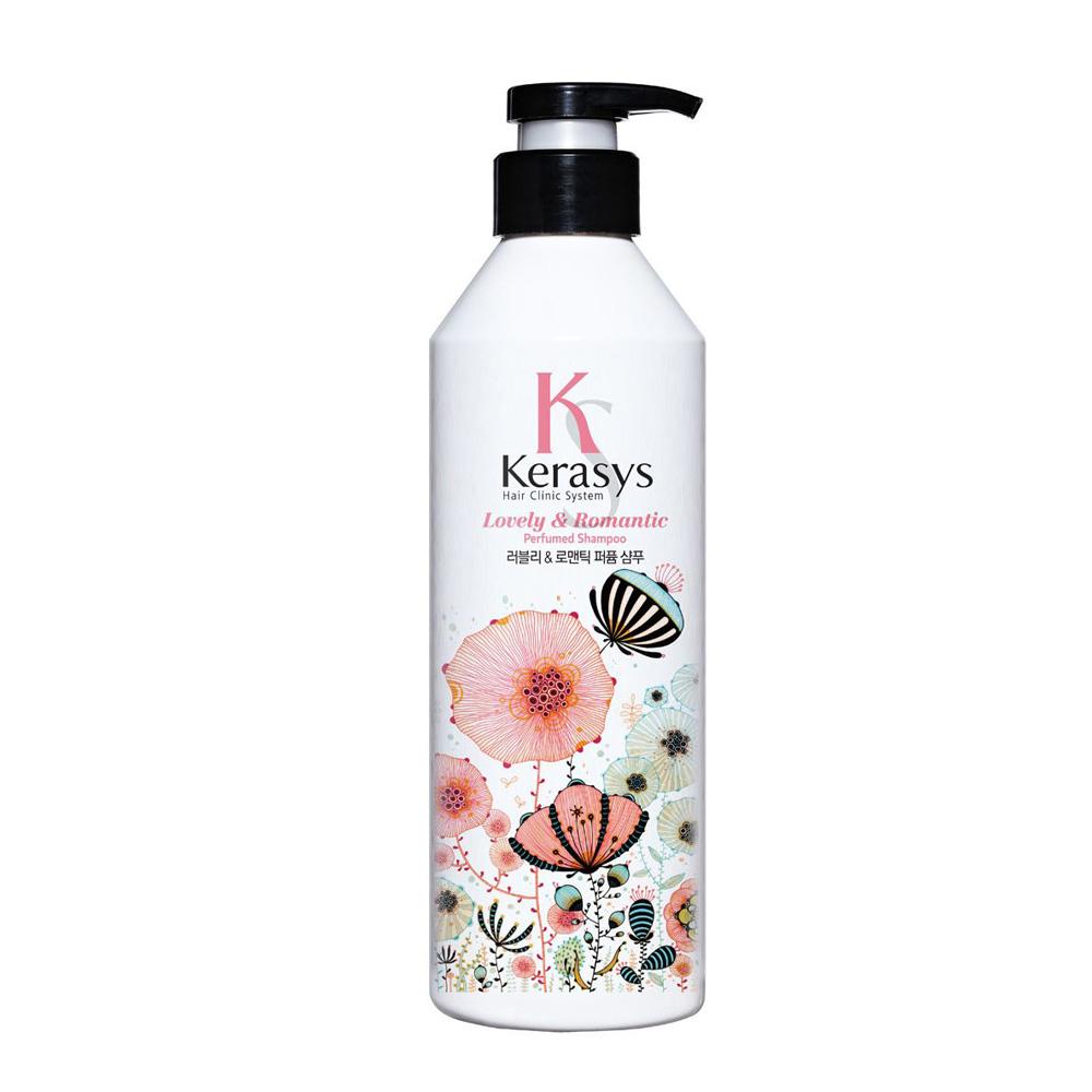 Купить Kerasys Шампунь для волос Lovely & Romantic, 600 мл (Kerasys, Perfumed Line)