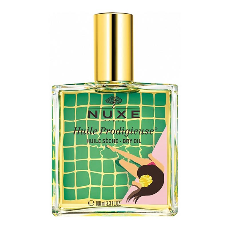 Купить Nuxe Сухое масло для лица, тела и волос Huile Prodigieuse Limited Edition Multi-Purpose Dry Oil желтый, 100 мл (Nuxe, Prodigieuse)