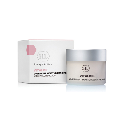 Купить Holyland Laboratories Overnight Moisturizer Cream Ночной увлажняющий крем 50 мл (Holyland Laboratories, Vitalise)