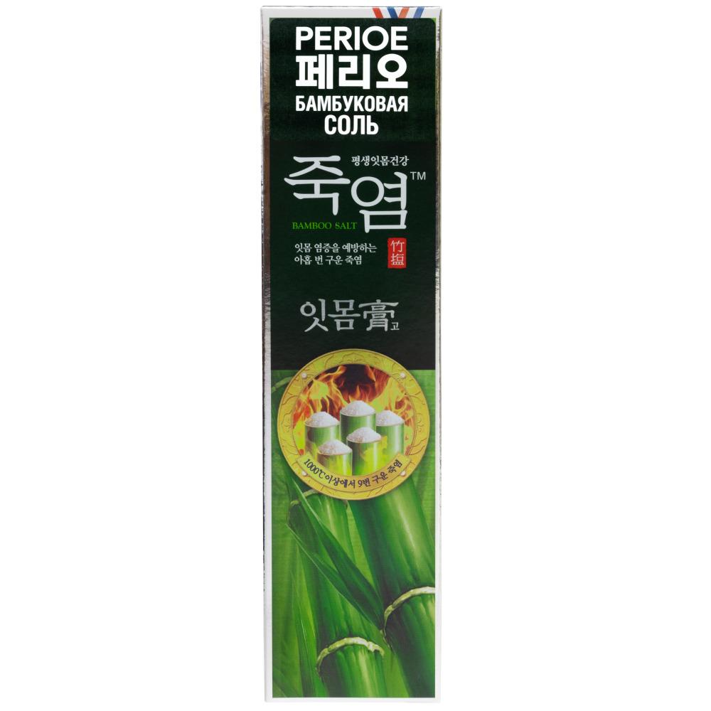 Perioe Зубная паста с бамбуковой солью Bamboosalt gumcare, 120 гр (Perioe, Зубные пасты)