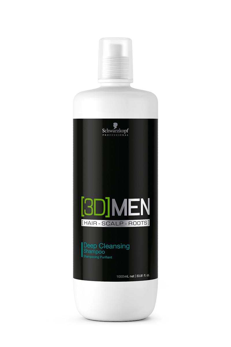Купить Schwarzkopf Professional Шампунь для глубокого очищения Deep Cleansing Shampoo, 1000 мл (Schwarzkopf Professional, [3D]MEN)