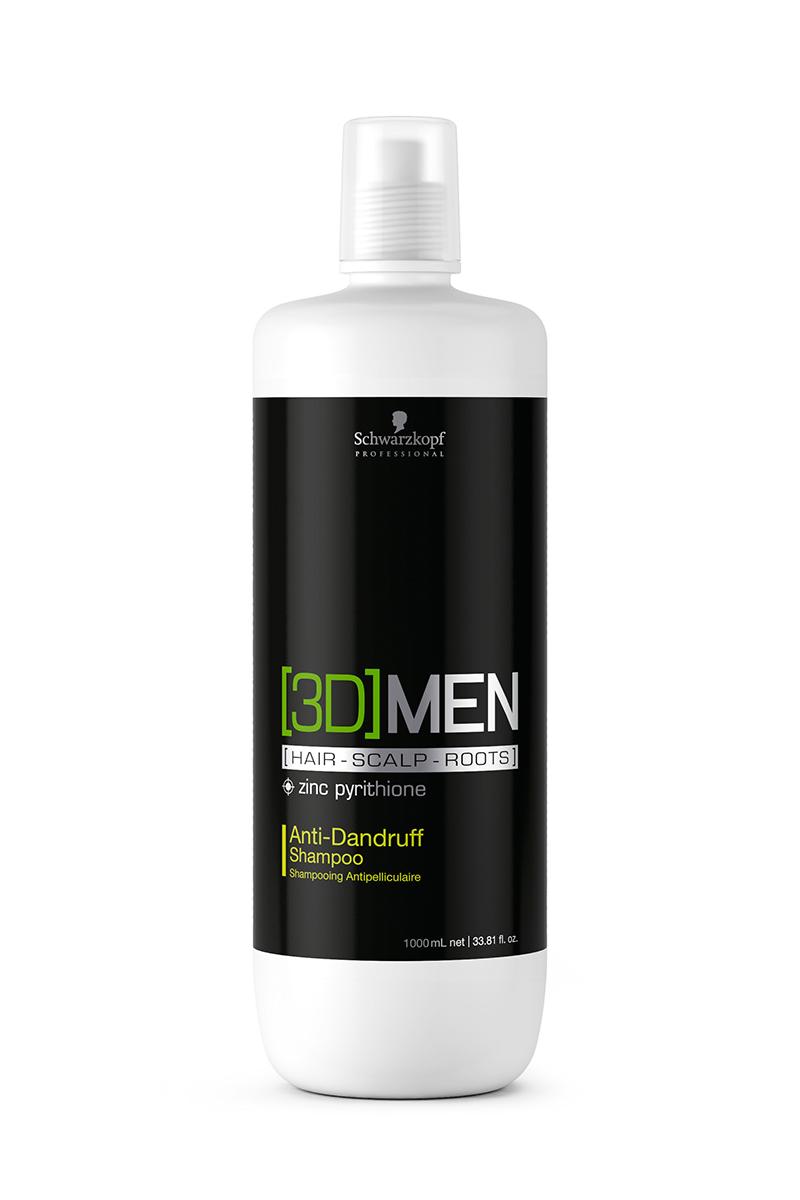 Купить Schwarzkopf Professional Шампунь против перхоти Anti-Dandruff Shampoo, 1000 мл (Schwarzkopf Professional, [3D]MEN)