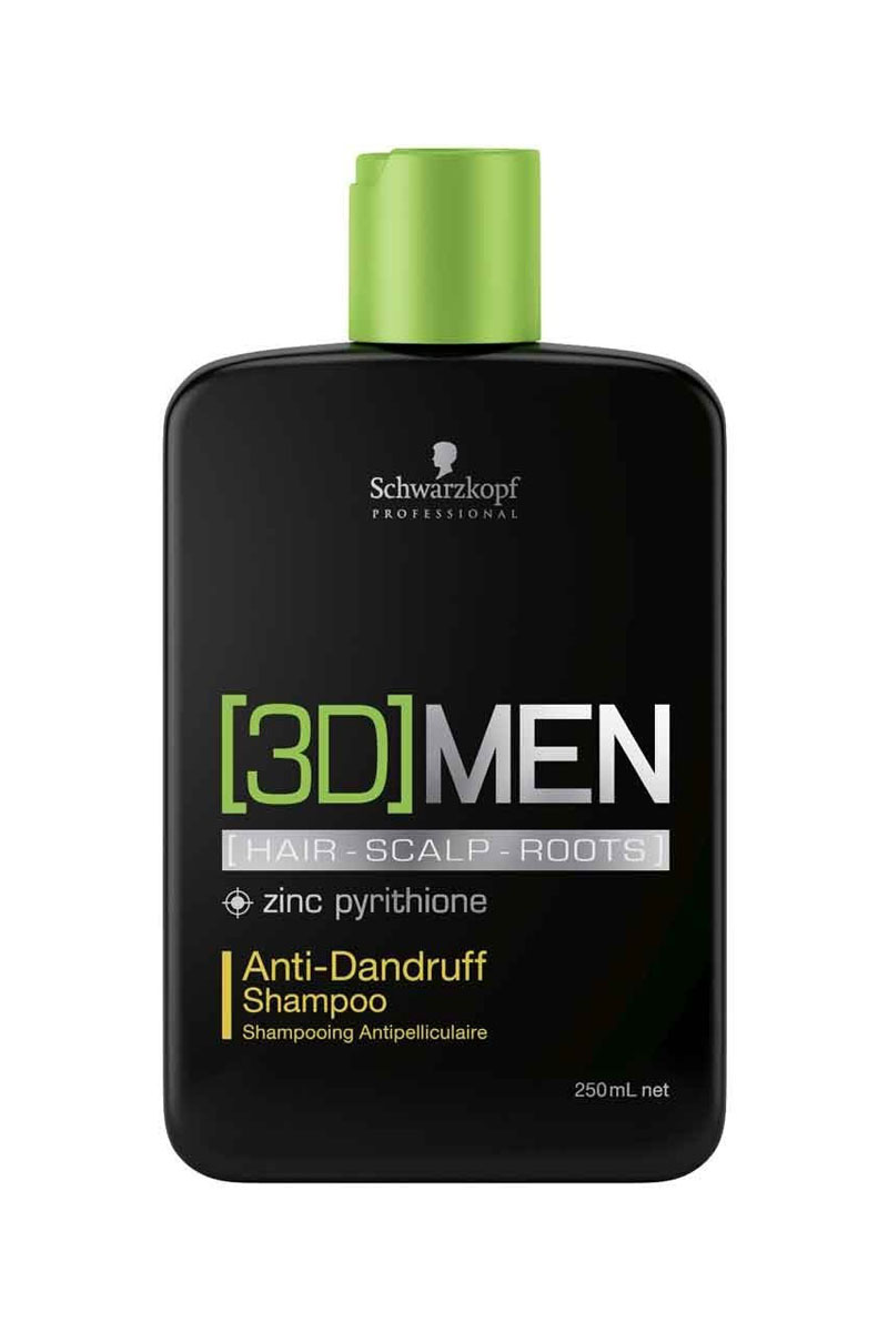[3D]MEN Шампунь активатор Выпадение волос, очищение Root Activator Shampoo 250 мл (Schwarzkopf Professional, [3D]MEN, Уход [3D]MEN)
