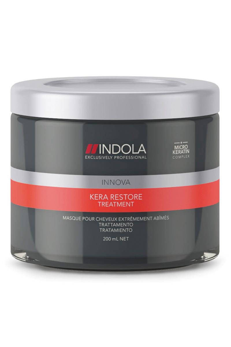Купить Indola Маска Кератиновое Питание и восстановление Kera Restore Treatment 200 мл (Indola, Уход за волосами)