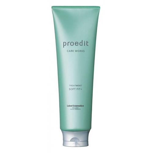 Купить Lebel Маска редактирующая для восстановления сухих и жестких волос Hair Treatment Soft Fit Plus, 250 мл (Lebel, Proedit Home)