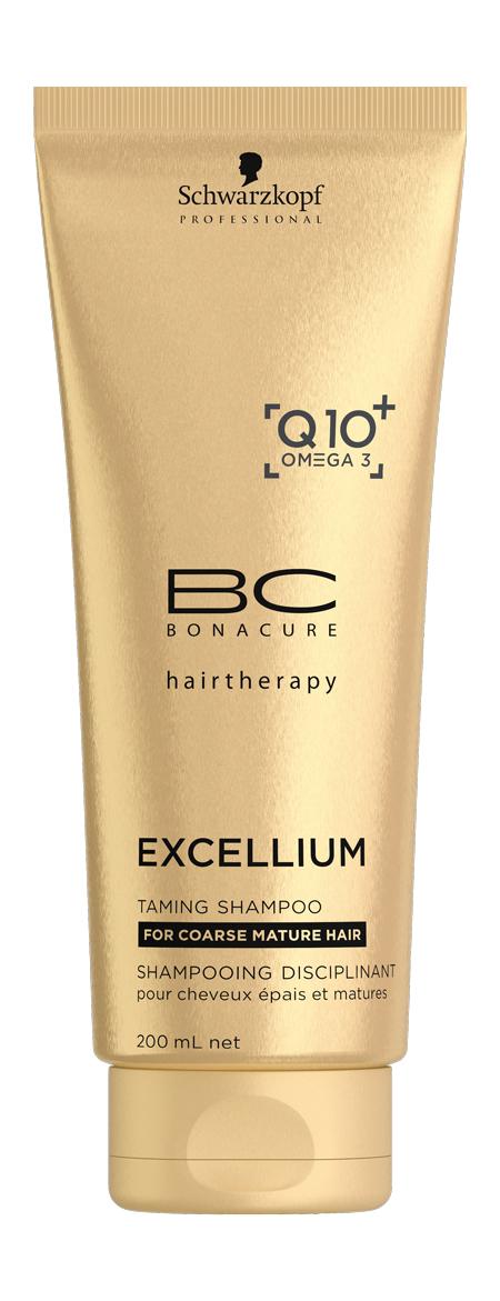 BC Смягчающий шампунь Excellium Taming Shampoo 200 мл (Schwarzkopf Professional, BC Bonacure, Excellium)