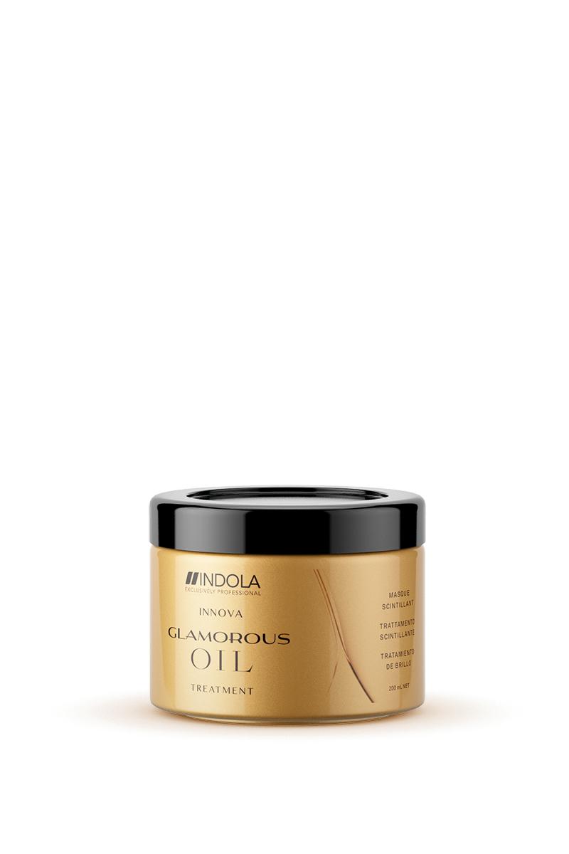 Купить Indola Восстанавливающая смываемая маска Чарующее сияние Glamorous Oil Treatment 200 мл (Indola, Уход за волосами)