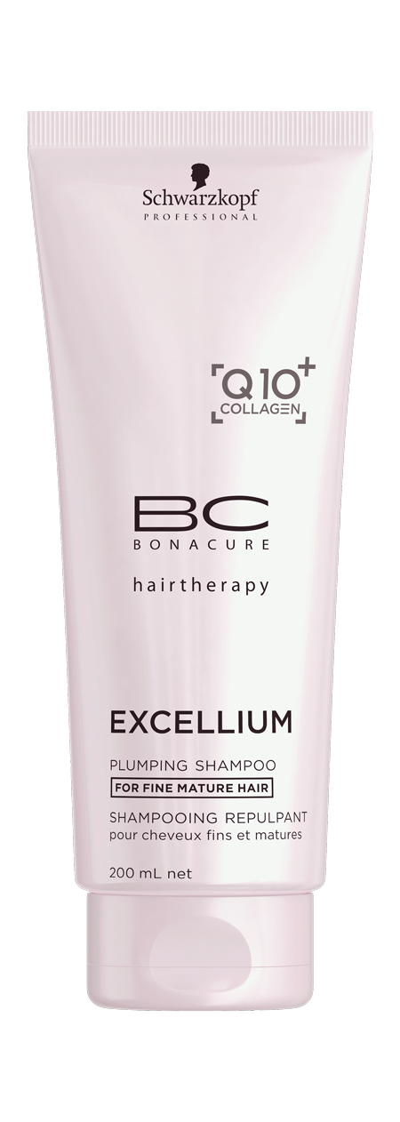 BC Уплотняющий шампунь Excellium Plumping Shampoo 200 мл (Schwarzkopf Professional, BC Bonacure, Excellium)