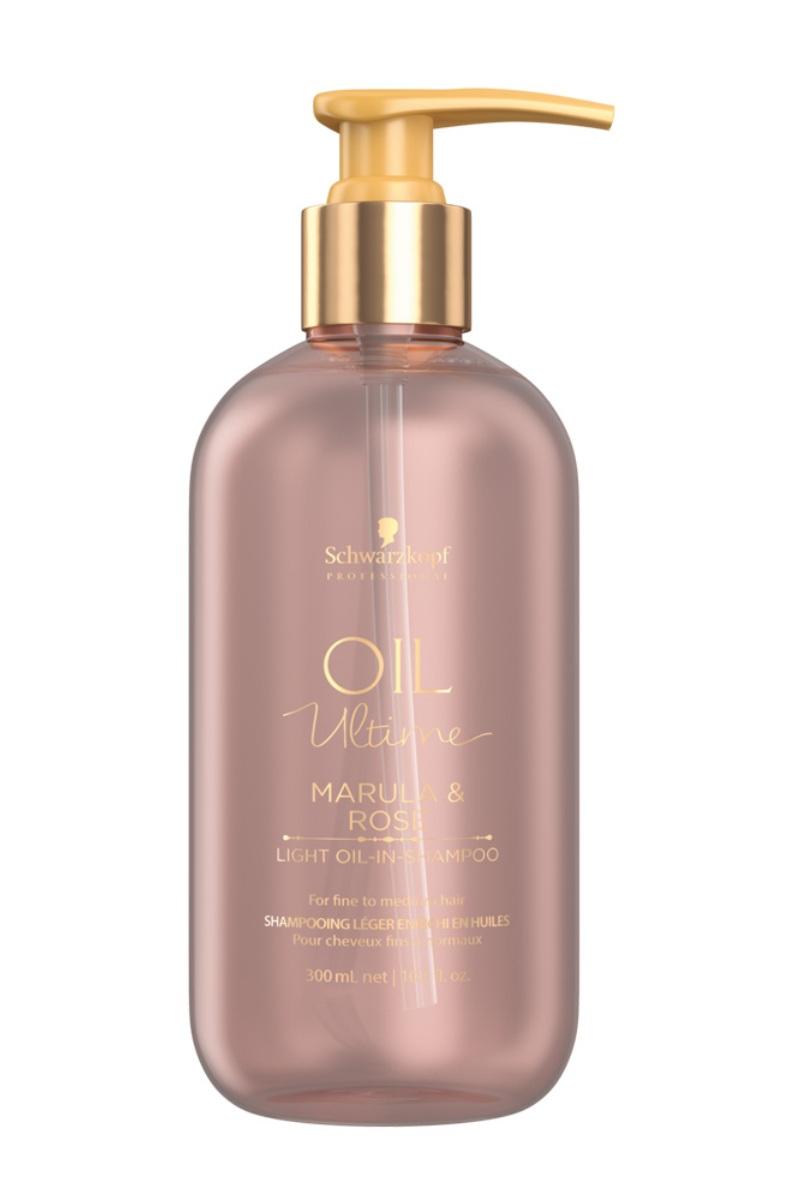 Купить Schwarzkopf Professional Шампунь для тонких и нормальных волос Lignt-Oil-in-Shampoo, 300 мл (Schwarzkopf Professional, Oil Ultime)
