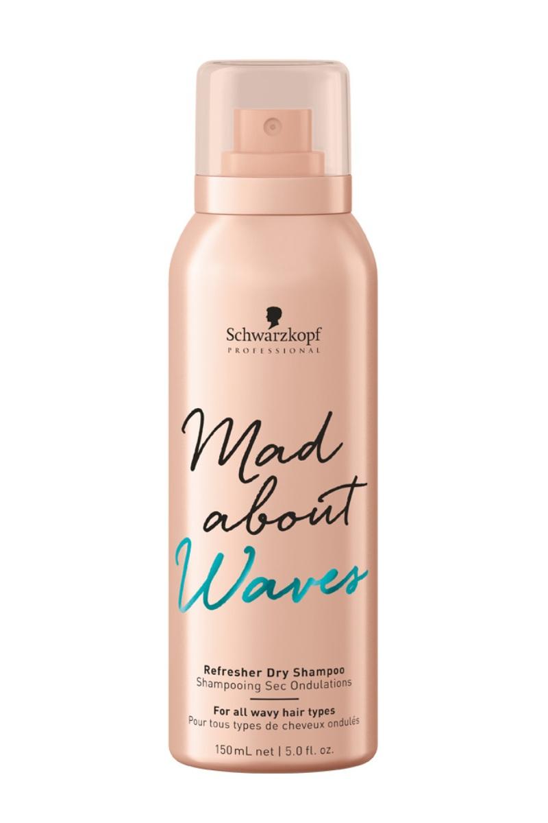 цена на Schwarzkopf Professional Сухой шампунь для тонких, нормальных и жестких волос Mad About Waves Refresher Dry Shampoo 150 мл (Schwarzkopf Professional, Mad About)
