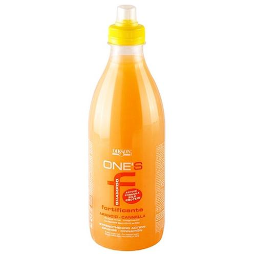 Dikson Укрепляющий шампунь с гидролизованными протеинами риса Shampoo Fortificante, 1000 мл (Dikson, One's Treat) dikson шампунь one's shampoo fortificante укрепляющий с гидрализованными протеинами риса 1000 мл