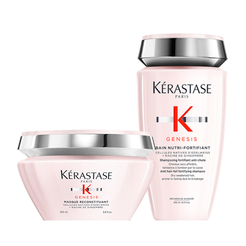 Купить Kerastase Набор для ослабленных волос Genesis (Маска, 200 мл + Шампунь-ванна, 250 мл) (Kerastase, Genesis)