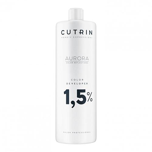 Купить Cutrin Окислитель для безаммиачного красителя Color Developer 1, 5%, 1000 мл (Cutrin, Aurora)