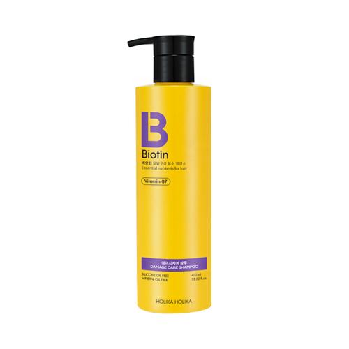 Купить Holika Holika Шампунь для поврежденных волос Биотин, 400 мл (Holika Holika, Biotin)