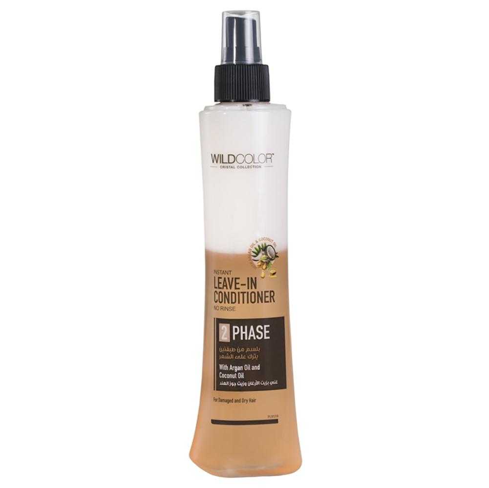 Wildcolor Двухфазный спрей-кондиционер с аргановым и кокосовым маслом, 250 мл (Wildcolor, Уход за волосами) недорого