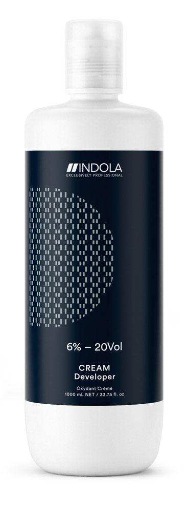 Купить Indola Крем-проявитель 6% – 20Vol EXСLUSIVELY PROFESSIONAL , 1000 мл (Indola, Окрашивание)