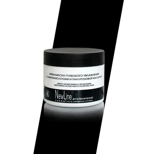 Купить Line Крем-маска глубокого увлажнения с аминокислотами и гиалуроновой кислотой, 300 мл (New Line, New line Крем-маски)