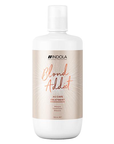Купить Indola Маска Blond Addict для окрашенных и обесцвеченных волос, 750мл (Indola, Уход за волосами)